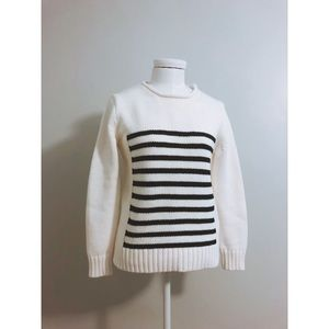 Jcrew 1988 stripped rollneck sweater